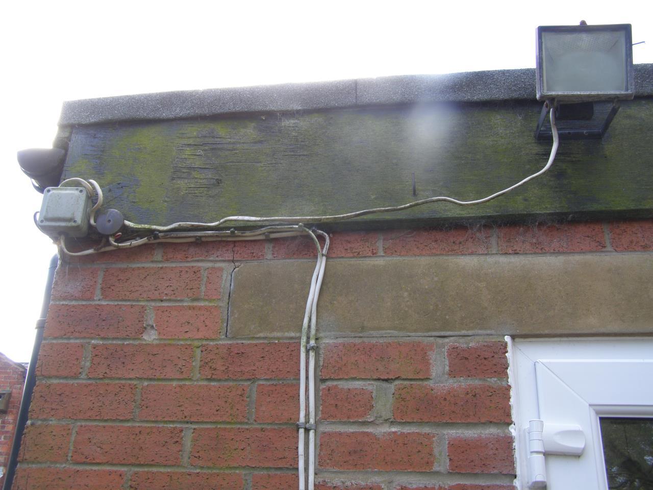 Defects Gallery Nm Home Surveys Diy Electrical Wiring Uk Work