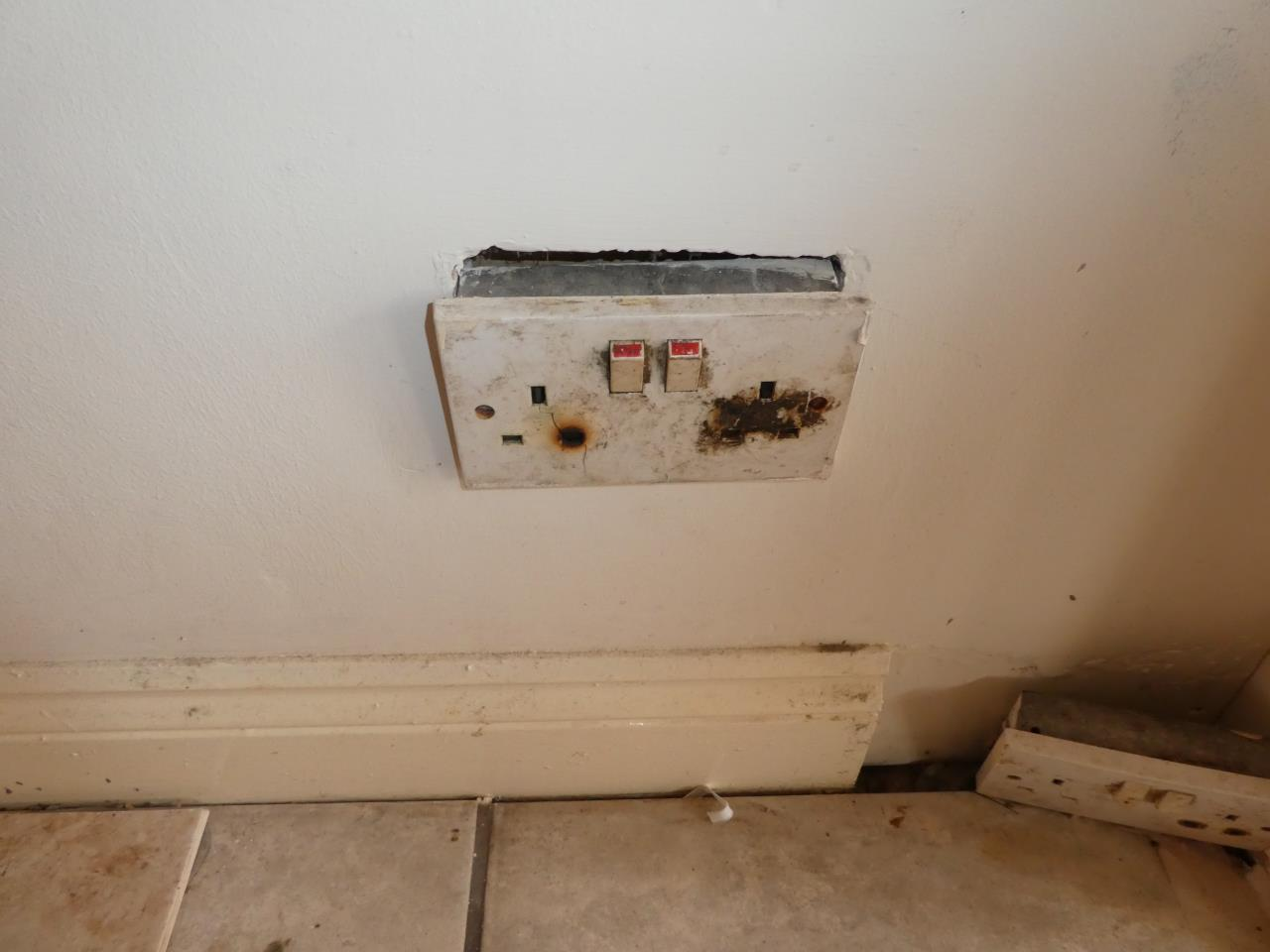 Defects Gallery Nm Home Surveys Dangerous Electrical Wiring Socket